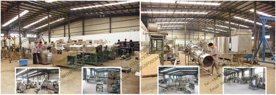 Corn Flakes machinery /Breakfast Cereals make Plant/Production Sets
