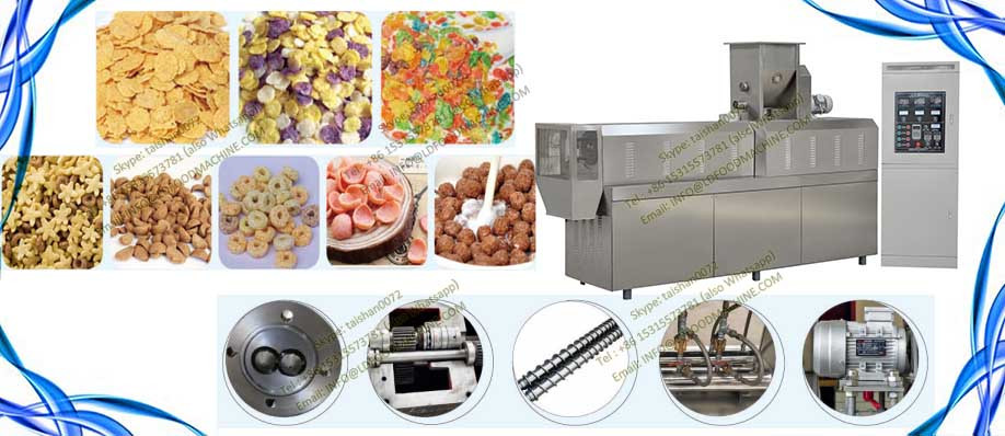 breakfast cereals corn flakes make machinery