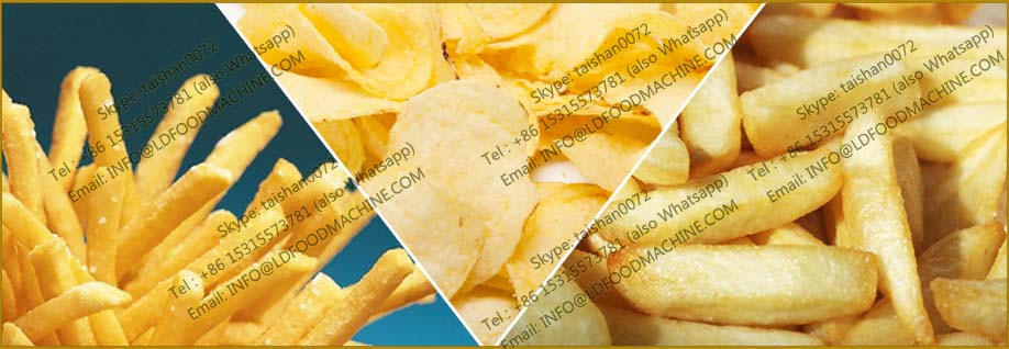 potatoes chips machinery fried chips machinery for sale