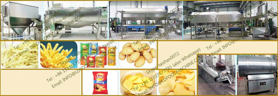 fully automatic french fries processing line