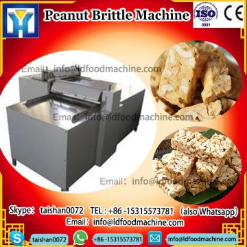 Electric MueLDi Protein Bar faz maquinaria Peanut Brittle Forming Cooling and Cutting Enerable Bar m