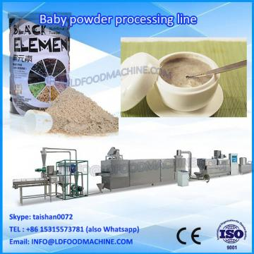 nutritionnal Brown milk Mix baby Rice Powder make machinery