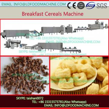 Twin-Screw Breakfast Cereal machinery / Double-Screw Corn Flakes Extruder Process Line
