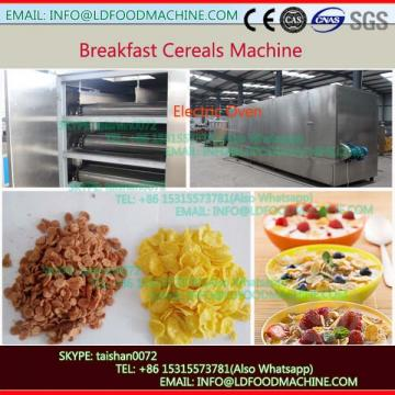 Double Screw Roasted Corn Flakes Extruder