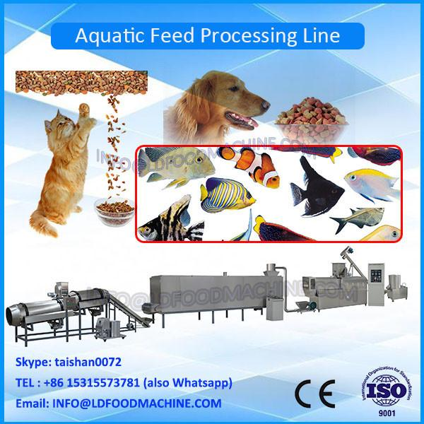 500kg/h Floating Fish Feed Production machinery/Double Screw Extruder #1 image