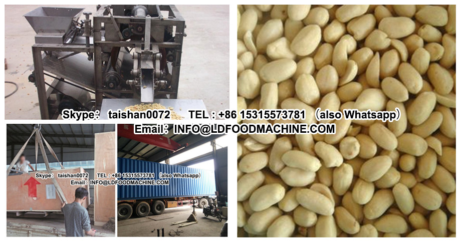 reliable quality stainless steel blanched dry peanut peeling equipment manufacture