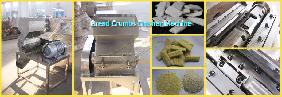 High quality new full automatic panko bread crumb machinery