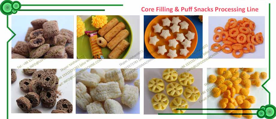 Corn Twists Manufacturing Technology Bh109