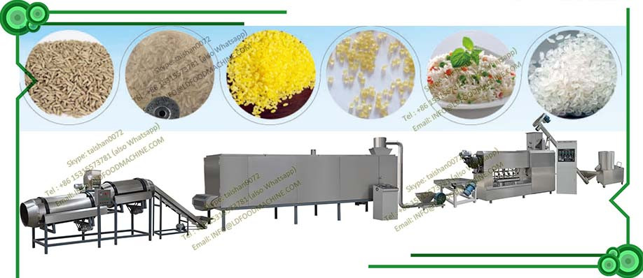 LD rice production line Artificial rice processing lines